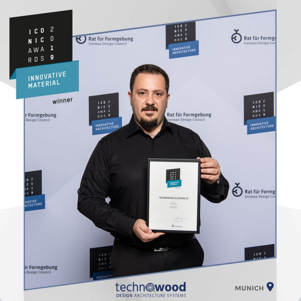 iconic awards 2019 winner technowood