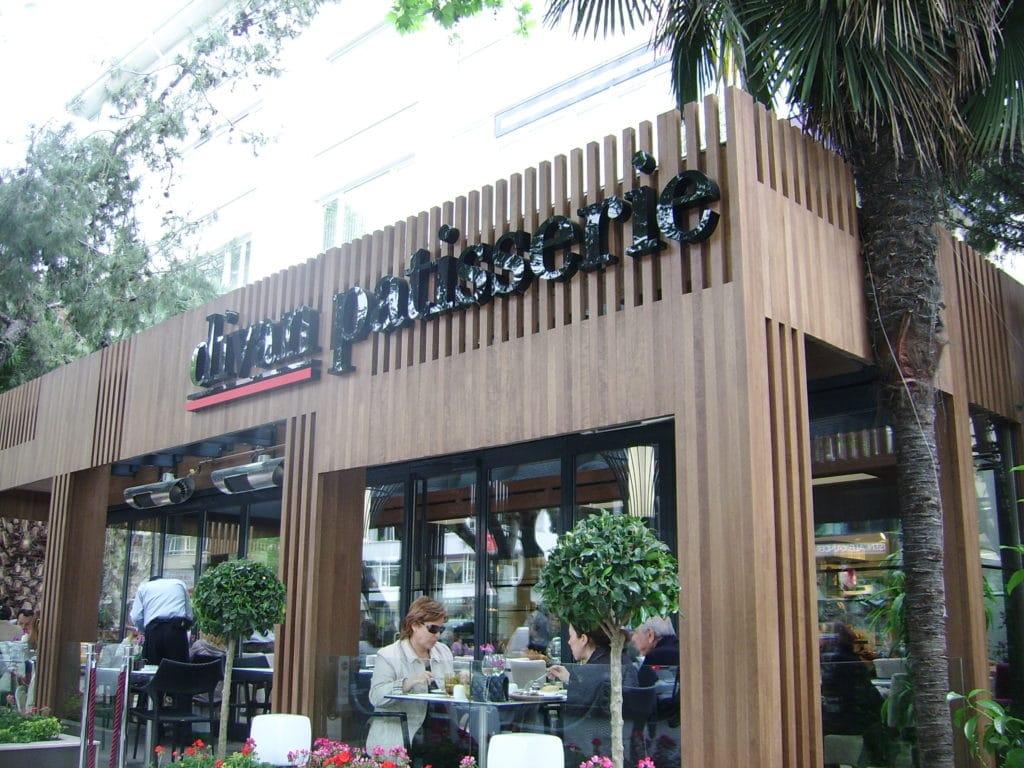 divan restaurant and pub exterior timber cladding