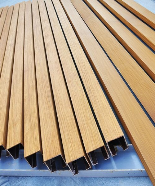 Technowood aluminium profiles
